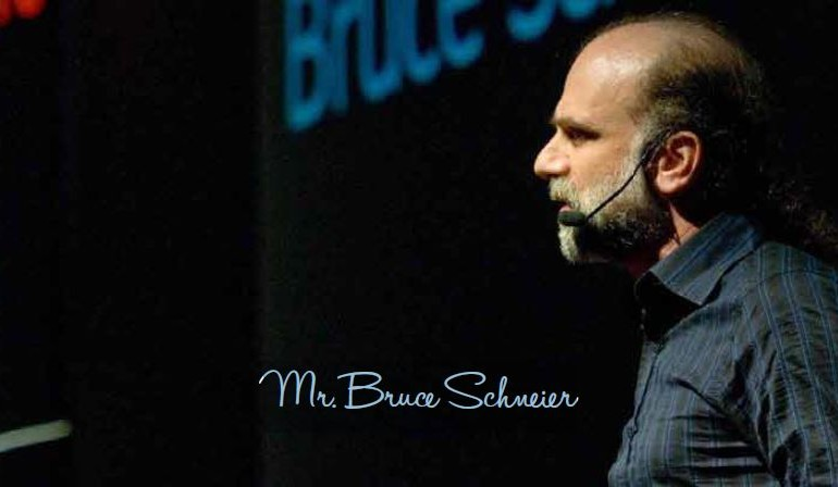Interview with Mr. Bruce Schneier — Security and Terrorism Expert