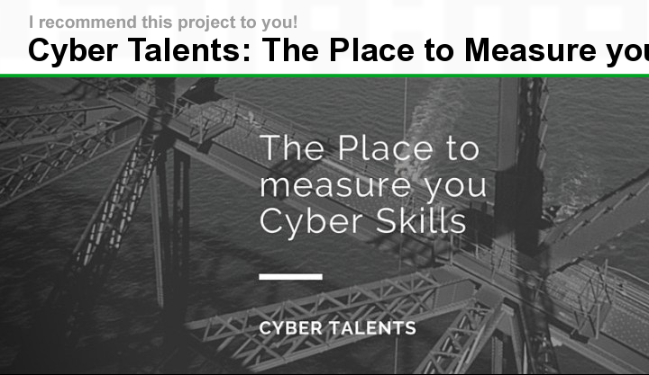 Cyber Talents started a crowdfunding campaign on zoomaal to raise 20,000 USD