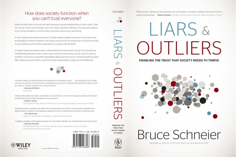 Book Review: Liars and Outliers