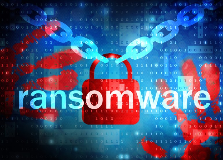 Ransomware : Trojan that encrypts most file types in a system